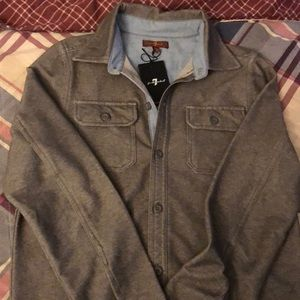 Boys u for All Mankind button down shirt